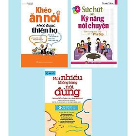 Combo 3 Cuốn Sách Kỹ Năng Giao Tiếp Trước Đám Đông