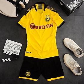 Bộ quần áo bóng đá Thái Lan cao cấp Dortmun vàng 2019-2020