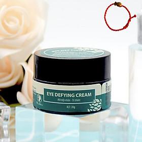 Kem dưỡng da mắt trị thâm và nhăn vùng mắt Wonmom Eye Defying Cream 20g - Tặng Kèm Vòng Tay Phong Thủy May Mắn