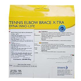 Đai Cẳng Tay Cao Cấp | Dây đai cẳng tay cho tennis, cầu lông, bóng bàn Dyna Infolife Xtra-6