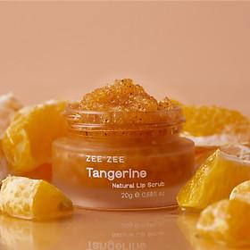 Tẩy Tế Bào Chết Môi Quýt Đường ZEE ZEE - Tangerine Natural Lip Scrub 20g