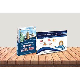 Combo Bộ sách Cẩm nang Học tiếng Anh & Sách ngữ âm dành cho người mới bắt đầu (kèm đĩa CD)