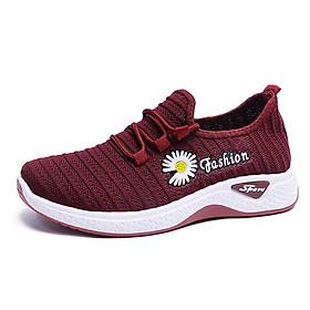 Giày thể thao buộc dây hoa cúc