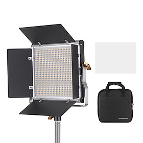 Đèn LED Andoer Gồm 660 LED + Bảng Điều Khiển Sáng 3200-5600K CRI 85 Với Giá Đỡ Chữ U