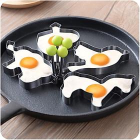 Combo khuôn rán trứng ( 4 hình)