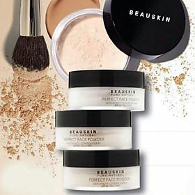 Phấn phủ bột Beauskin Perfect Face Powder Hàn Quốc 30g #21 Natural Beige tặng kèm móc khoá-7