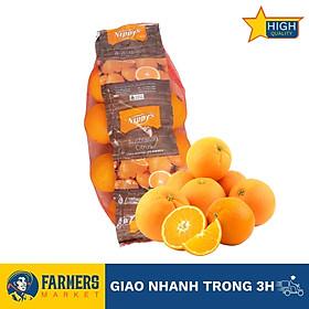 Cam vàng Nippy Úc - Cam đặc biệt mọng nước, có vị ngọt thanh tự nhiên, xen kẽ chút chua nhẹ và rất thơm