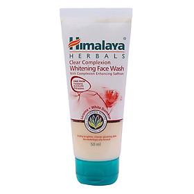 Sữa Rửa Mặt Tinh Tế Làm Sạch Và Trắng Da Cải Tiến Với Nghệ Tây Himalaya Herbals (50ml)