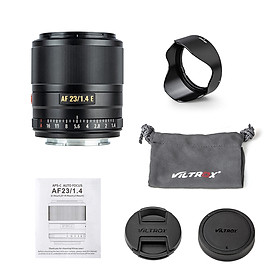 VILTROX AF23/1.4E 23mm F1.4 Large Aperture Humanistic Prime Lens Auto/ Manual Focus Lens APS-C Compatible with Sony