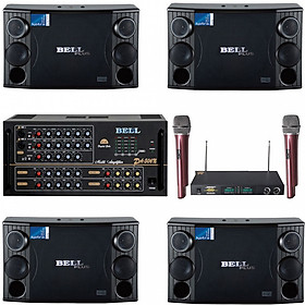 Bộ dàn 4 loa karaoke gia đình PA - 2000SE BellPlus