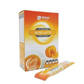Bột Bí Đỏ Latte Chính Sơn 180g (18g x 10 gói) - Hàng chính hãng, 100% tự nhiên