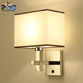 Đèn treo tường chao vải MTB-250, Đèn tường phong cách vintage
