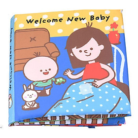 Đồ chơi - Sách vải Welcome New Baby
