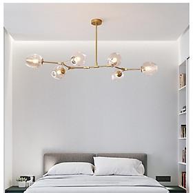 Đèn chùm ALPHA phong cách hiện đại, sang trọng, độc đáo - kèm bóng LED chuyên dụng.