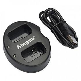 Sạc pin đôi nhanh KingMa cho Sony NP-FW50 A6000 A6300 A6500 - Hàng chính hãng