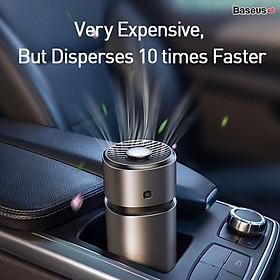 Máy khử mùi và lọc không khí dùng cho xe hơi Baseus Breeze fan Air Freshener (with Formaldehyde Purification Function)