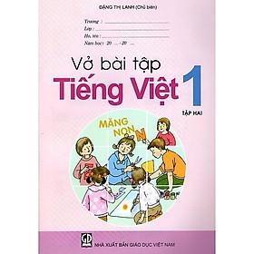 Vở Bài Tập Tiếng Việt Lớp 1 (Tập 2)
