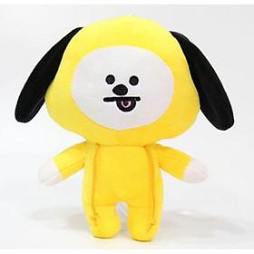 Hình đại diện sản phẩm Gấu bông ,gấu BT21- BTS gấu bông CHIMMY - Jimin (vàng)