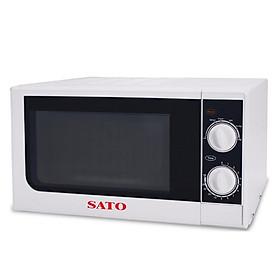 Lò Vi Sóng Có Nướng SATO ST-VS01 (20 lít) - Hàng chính hãng