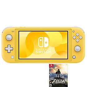 NINTENDO SWITCH LITE - KÈM GAME ZELDA BREATH OF THE WILD - YELLOW -HÀNG NHẬP KHẨU