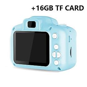 Hd  Digital Camera 2  Inch Cartoon Mini Camera with 16G memory  Card Children  Birthday  Gift