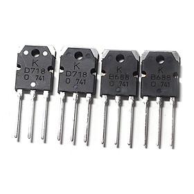 Bộ 4 Con Transistor D718 và B688(Mỗi loại 2 con)
