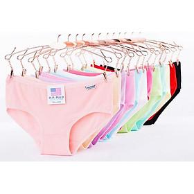 Bộ 10 quần lót nữ xuất Mỹ H.P PULO nhiều màu ( tặng kèm lắc tay bạc 925)