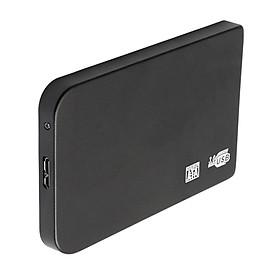 Đen Siêu Mỏng 2.5in USB3.0 Ổ Cứng HDD Dung Lượng Đĩa Cho Máy Tính