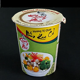 Miến ly ăn liền hương vị chay nấm rau củ (1 thùng 24 ly)