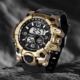 Đồng hồ điện tử nam KASAWI N1000 Đồng hồ thời trang Mặt số lớn Đa chức năng Thể thao ngoài trời Đồng hồ điện tử kỹ thuật số