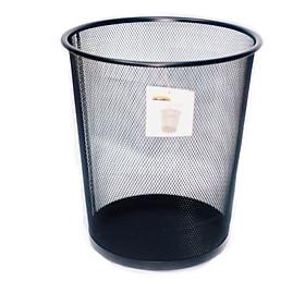 Sọt rác Kim Loại Văn Phòng Tròn Top Point HY63515 2 Màu (Ngẫu Nhiên)