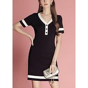 Đầm Dành Cho Người Mập Đủ Size 06 - Đen