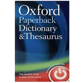 Oxford Paperback Dictionary and Thesaurus (Third Edition)