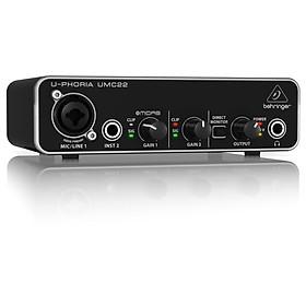 Behringer U-Phoria UMC22 USB Audio Interface - Hàng Chính Hãng
