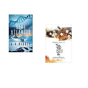 Combo 2 cuốn sách: Gene Atlantis + Thiên môn chi uy