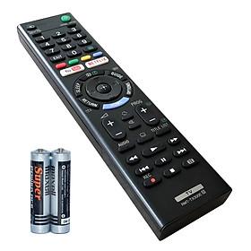 Remote Điều Khiển Dành Cho Internet TV, TV LED, Smart TV SONY RMT-TX300E (Kèm pin AAA Maxell)