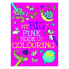 Sách tô màu My Big Pink Book of Colouring