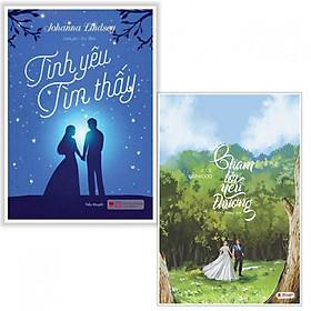 [Download Sách] Combo sách ngôn tình hay : Tình yêu tìm thấy + Chạm tới yêu thương - Tặng kèm bookmark thiết kế