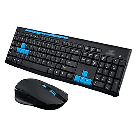 2.4G Wireless Gaming Gamer Keyboard Mouse Kit for Desktop Pc Laptop Hk3800