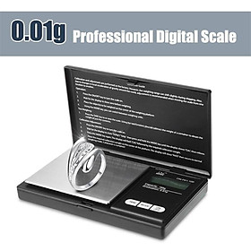 100g 0.01g Digital Jewelers Scale Diamond Gold Coin Calibration Weight Precise