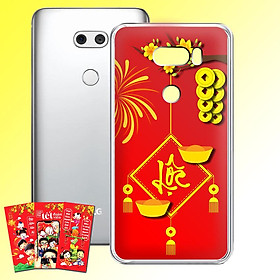 Ốp lưng điện thoại LG V30 - 01253 7969 LOC02 - Tặng bao lì xì Chúc Mừng Năm Mới - Silicon dẻo - Hàng Chính Hãng