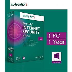 Kaspersky Internet Security - 1pc/1 năm - Chính hãng Kaspersky