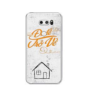 Ốp lưng dẻo cho điện thoại LG V30 - 0237 DIDETROVE - Hàng Chính Hãng