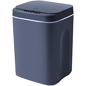 Home USB charging smart trash can with lid auto sensing