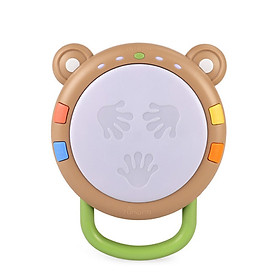 Multi-function Hand Drum Baby Musical Toy Electronic Drum Instruments with Light and Sound Early Educational Development