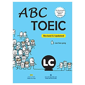 Sách - Abc Toeic LC (For The Revised Test Format 2019 In Viet Nam) (Kèm 1 Đĩa Mp3)
