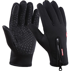Găng tay nam cảm ứng giữ ấm mùa đông chống nước