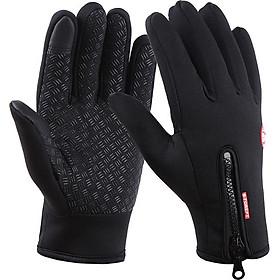 Găng tay nam cảm ứng chống nước giữ nhiệt