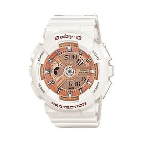Biểu đồ lịch sử biến động giá bán Đồng hồ nữ dây nhựa Casio Baby-G chính hãng BA-110-7A1DR