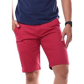 Quần Short Khaki Hamatta Màu Đỏ Claret 1750001-RE